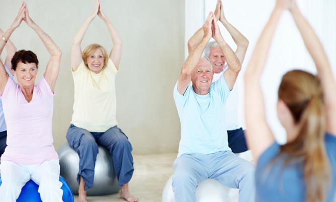 Beneficios del ejercicio físicos de la tercera edad